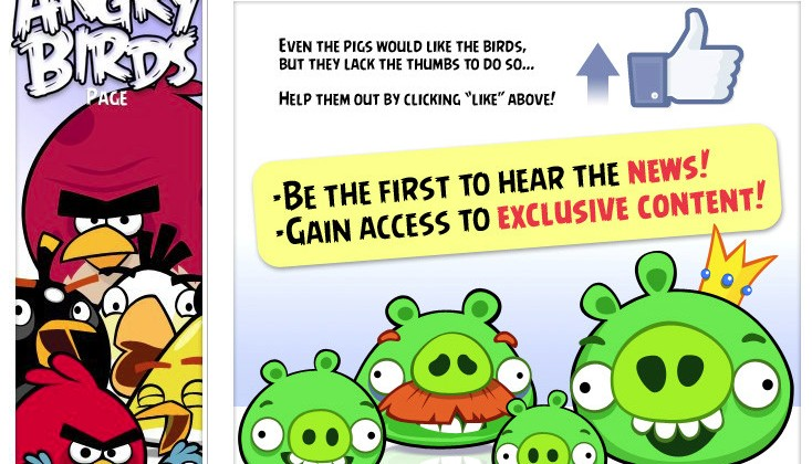 Angry Birds Catapults To Facebook