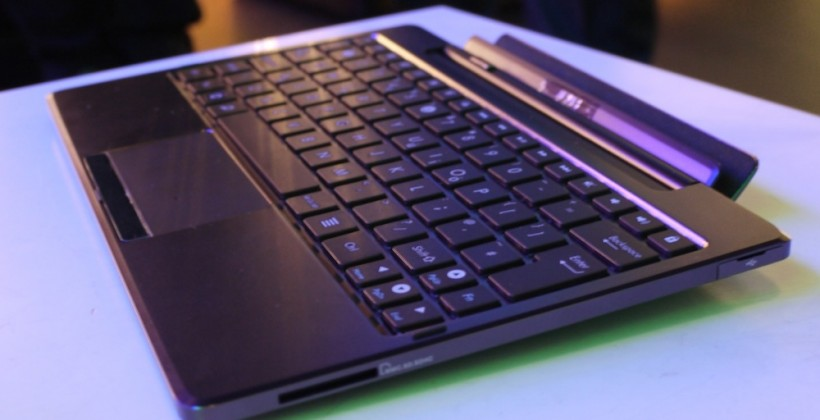 ASUS Eee Pad Transformer first-impressions [Video]
