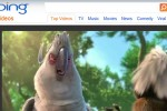 Bing grabs second spot in online video