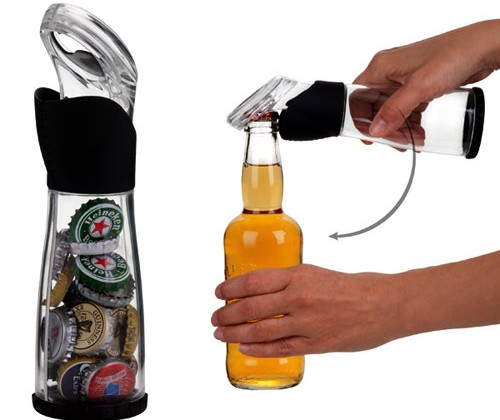 Cap Storing Bottle opener will keep track of how many you have
