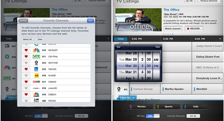 Comcast Xfinity TV iOS App Gets Updated With More Shows, Features