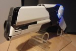 Geek creates DIY pulse laser pistol that can burn plastic and melt foam