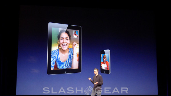 No 720p FaceTime HD for iPad 2
