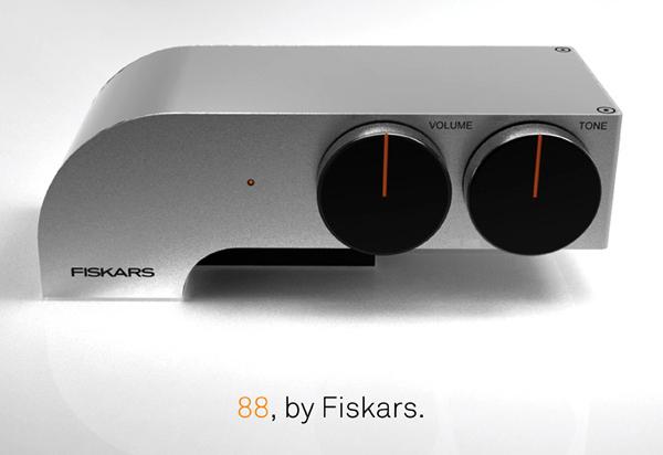 "Fiskar ""88"" HDD Headphone Amplifier Designed For Sharp Audio"