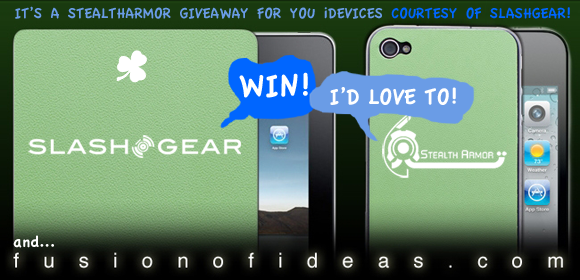 iPad 2 StealthArmor St. Patrick's Day Giveaway!
