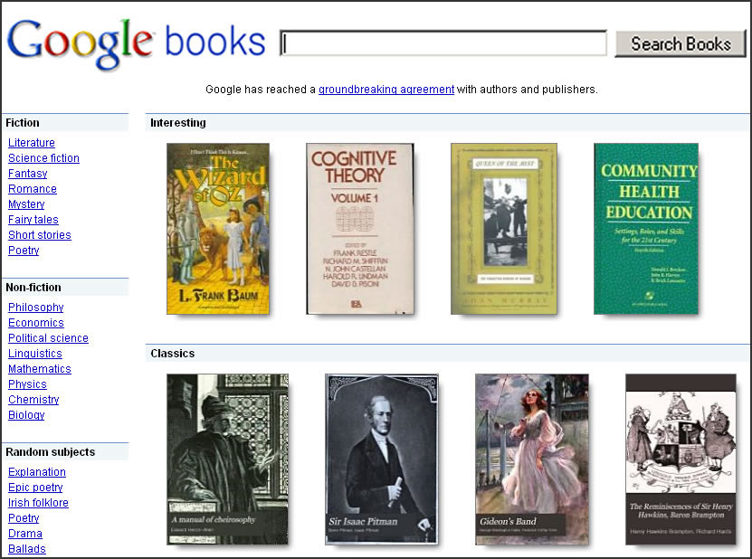 Google Books Settlement Gets Rejected By U.S. District