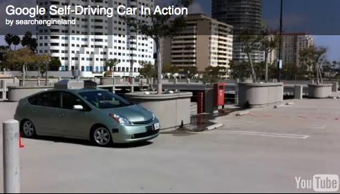 Google Demos Self-Driving Robot Car At TED