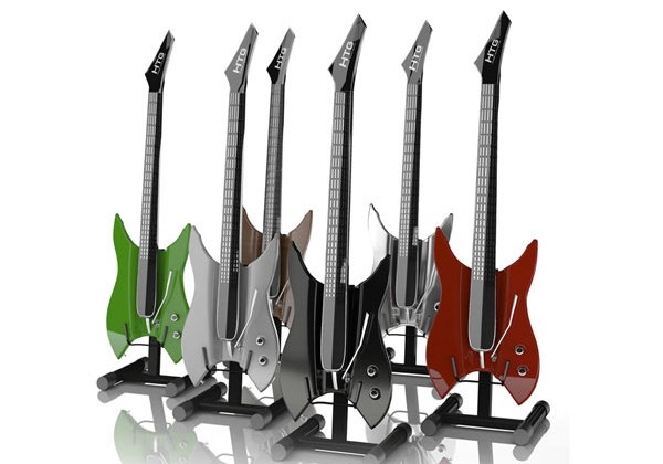 Hyper Touch Guitar has no strings attached