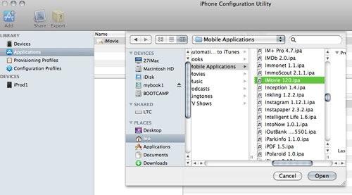 iMovie for original iPad hack discovered