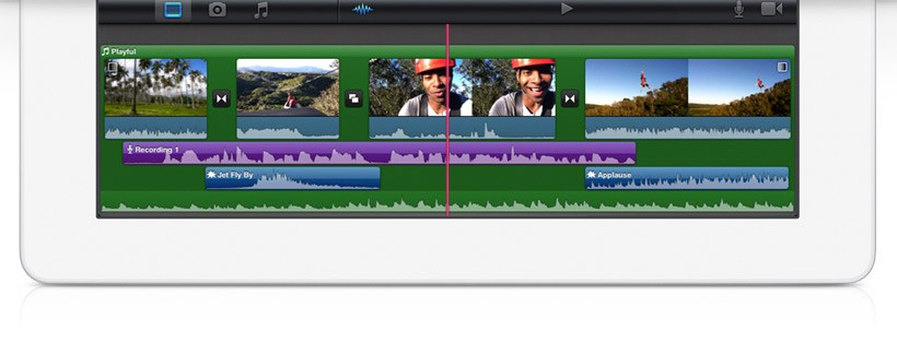 iMovie for iPad revealed