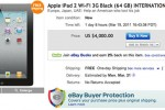 iPad 2 flipping rampant in online auctions, as high as $4000