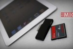 iPad 2 Compact Flash card reader ideal for mobile videographers [Video]