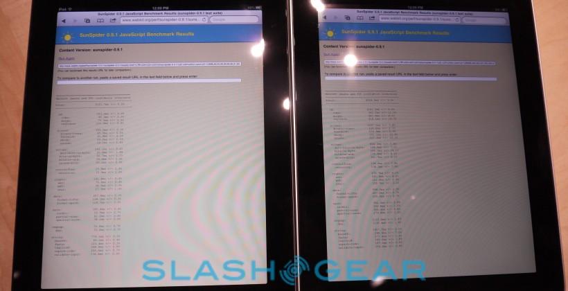 iOS 4.3 Benchmarks on iPad