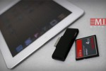 iPad and iPad 2 card reader does CF and SD cards