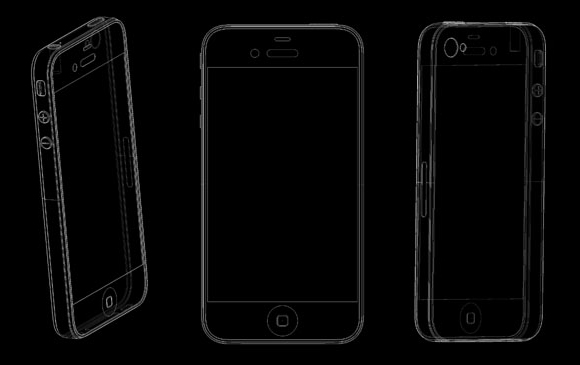 Leaked iPhone 5 renders claim same style but bigger screen
