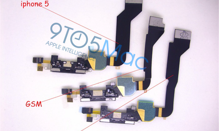 iPhone 5 slots metal back into fourth-gen chassis?