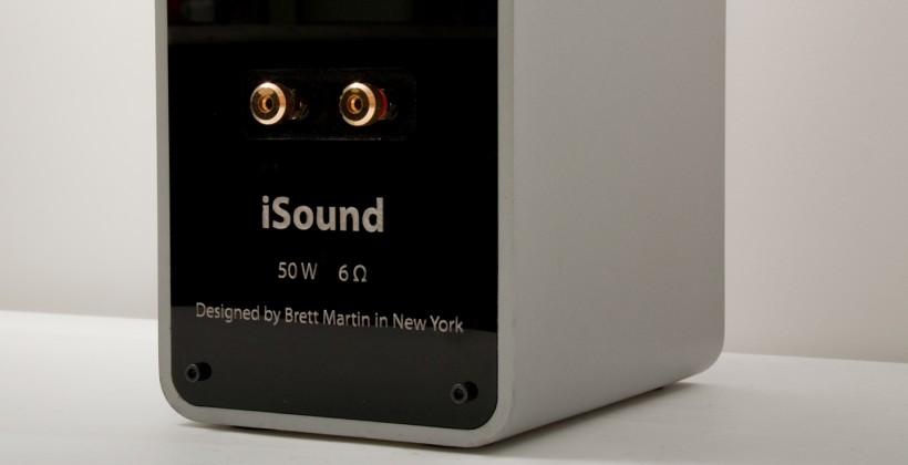 iSound DIY Apple speakers worthy of Jony Ive