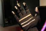 Keyglove wearable input device is a keyboard and mouse with one hand