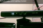 Kinect hacked for home automation light controller