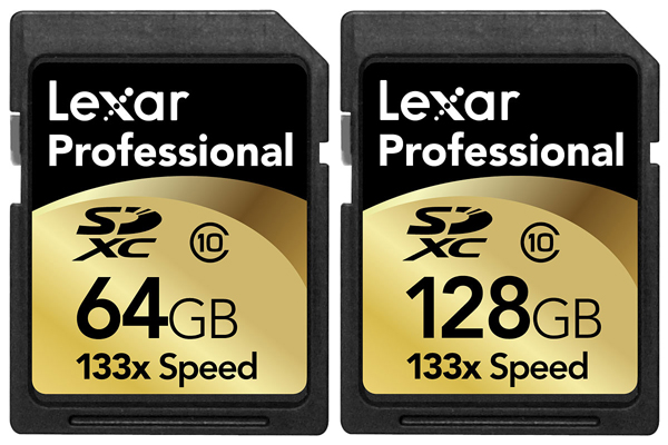 Lexar Introduces Industry's First 128GB Pro SDXC Memory Card