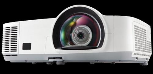 NEC debuts new M300XS and M300WS short throw projectors