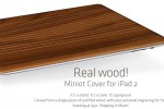 Miniot is a Smartcover for your iPad 2 made from real wood