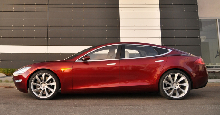 Tesla Motors Announces New Details On Model S All-Electric Car