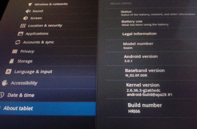 Motorola XOOM gets Android 3.0.1 update for Flash support