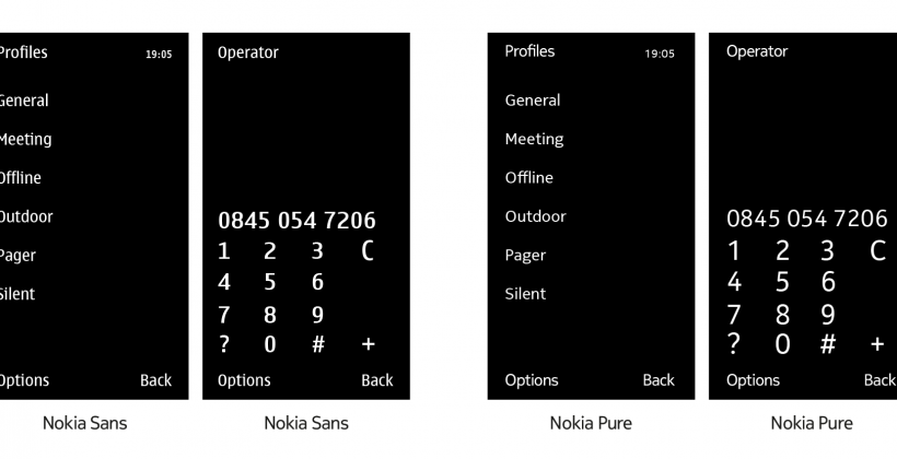Nokia Pure revamps typography for a more modern Symbian [Video]