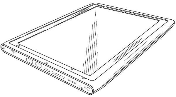 Nokia Gets Design Patent for (MeeGo?) Tablet