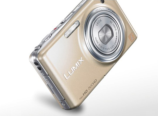 Panasonic LUMIX FX77 packs touchscreen makeup studio [Video]