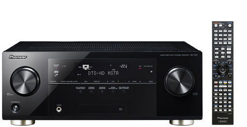 Pioneer VSX-1021 AV Receiver supports Apple AirPlay