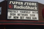 Montana Radio Shack offers free gun with Dish Network purchase