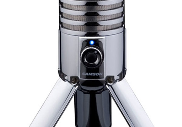 Best Buy taking pre-orders on Samson Meteor Mic in chrome or gold plate