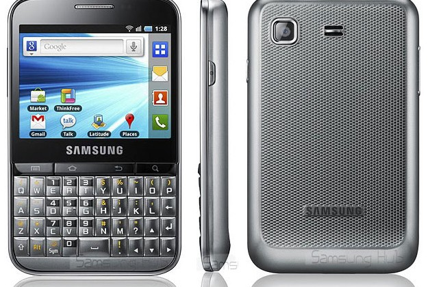 Samsung Galaxy Pro QWERTY Android candybar revealed [Video]
