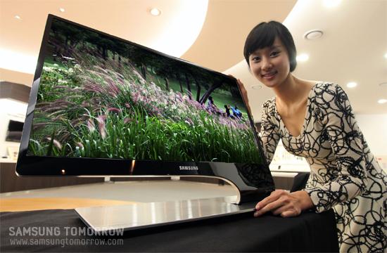 Samsung 3D HDTV Monitors TA750 and TA950 due May