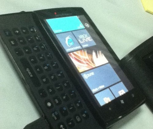More pics of prototype Sony Ericsson Windows Phone 7 smartphone leak