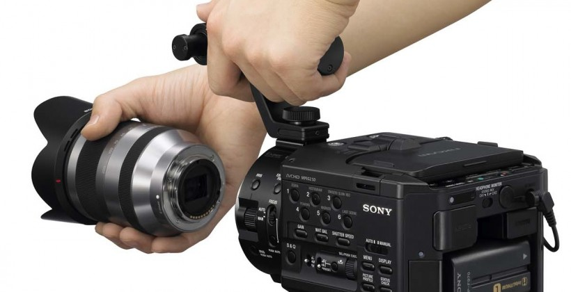 Sony NEX-FS100 pro interchangeable-lens camcorder revealed