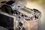 Clear Sony Alpha DSLR gets felt up, still not likely to see production