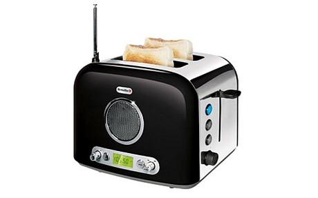 Multitasking Toaster Plays Tunes While You Toast