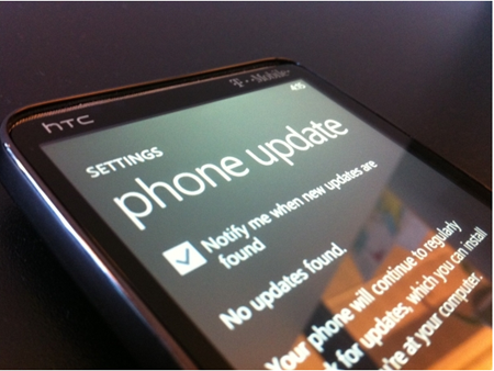 Windows Phone Nodo update coming this month, caught on video