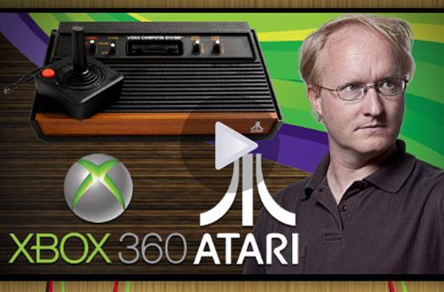 Ben Heck combines Xbox 360 and 70's Atari