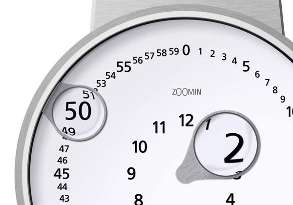 Cool watch concept makes numbers easy to read
