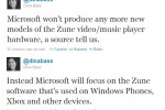 Microsoft May Finally Kill Zune?
