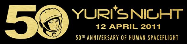 Yuri's Night celebrates Gagarin's 50th Anniversary of orbiting the earth