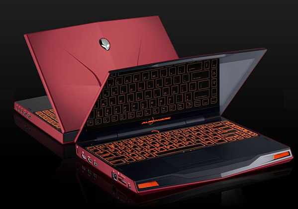 Alienware M14x and M18x official; M11x refreshed