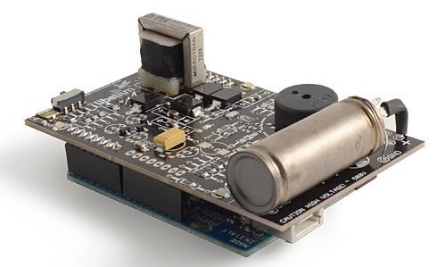 ...Arduino, счетчик Гейгера-Мюллера (металлическая трубка, заполненная...