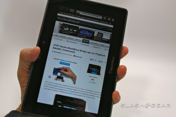 BlackBerry PlayBook Review - SlashGear