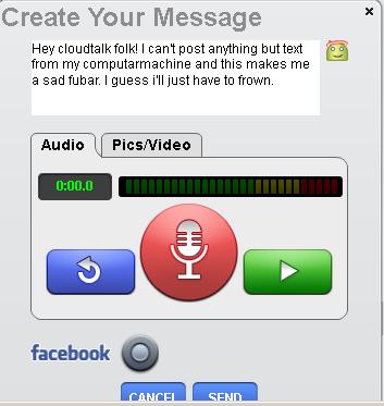 CloudTalk – Integrated Multimedia Messaging