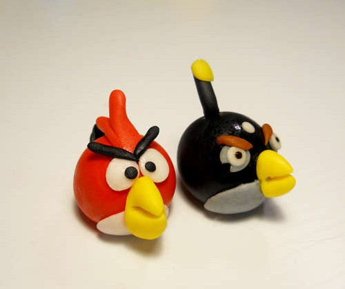 Instructables: Edible Angry Birds – These Ain't Peeps